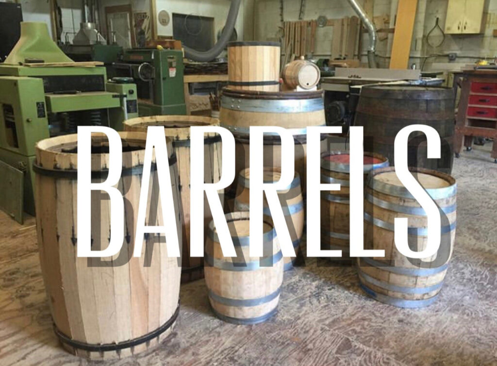 Picture of Barrels in workshop